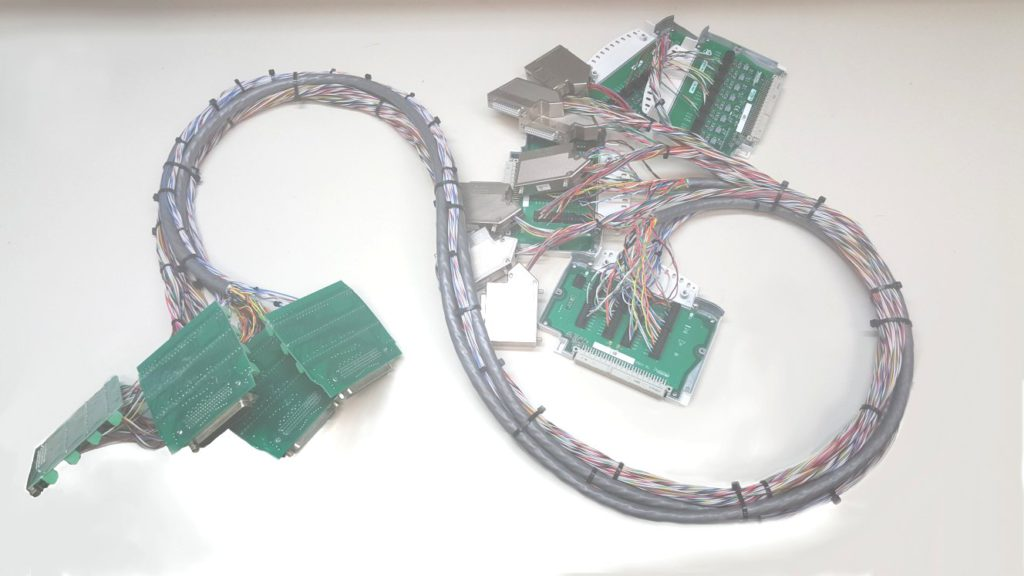 Wire harness built by Steve Cass